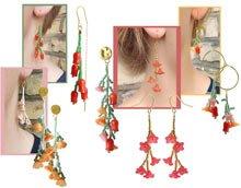DIY | Blomsterranke øreringe
