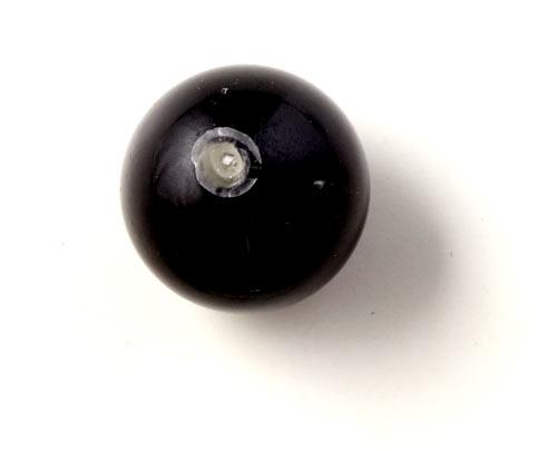 gummilåsedup limet i anboret perle