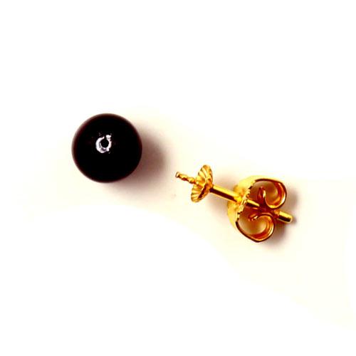 ørestik med anborede shell pearls