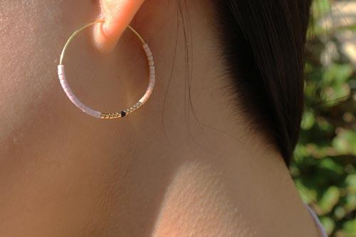 Delica øreringe