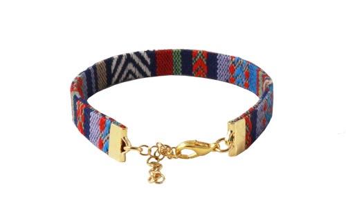 armbånd med ribbonends og karabinlås