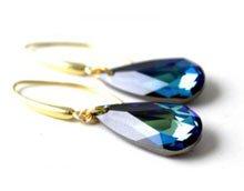 DIY eksklusive øreringe med Swarovski-krystal.