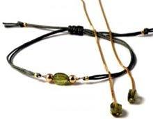 DIY Smykkesæt med mini-armbånd og øreringe med kæde.