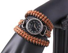 DIY – Ur-armbånd med brynjekæde og læder.