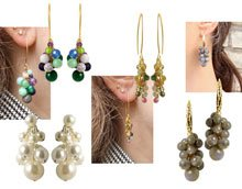 DIY | Øreringe med drueklaser