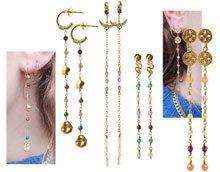 DIY | Øreringe med links af perler
