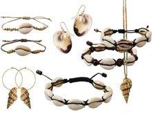 DIY | Smykker med cowrie skaller, muslinger og konkylier