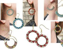 DIY | Hoops med delica perler