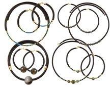 DIY | Smykker med gummisnor og memory wire