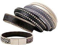 DIY | Læderarmbånd med kæde.