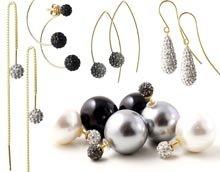 DIY Elegante party-øreringe med masser af bling bling!