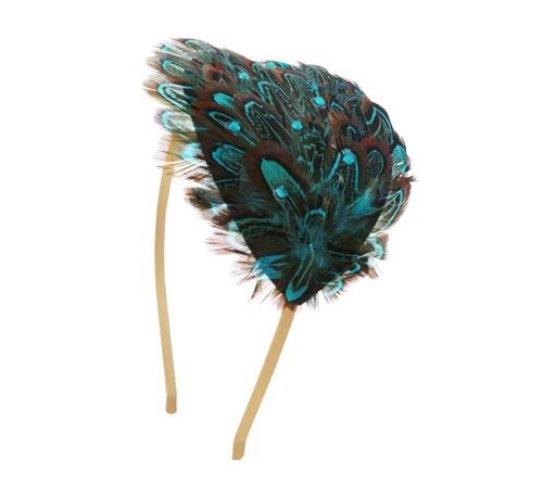 hårbøjle med blå fasan
