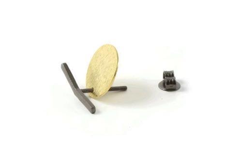 oxideret bukket stav og mønt
