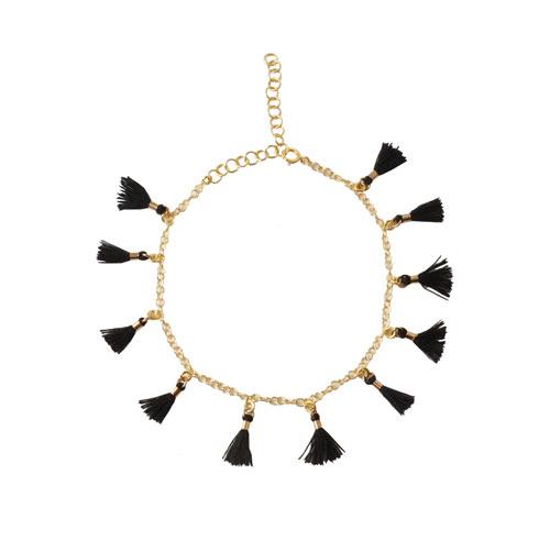smykker med små kvaste og vedhæng