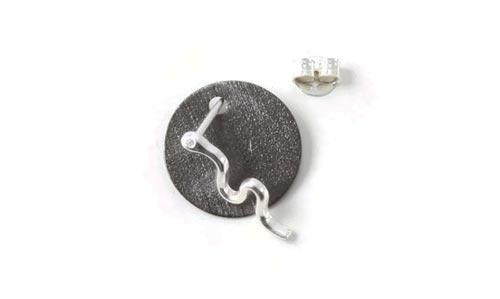 ørestik med mønt og slange