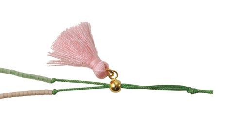 seedbeads armbånd med kvast