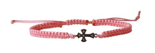 macramé armbånd med kors