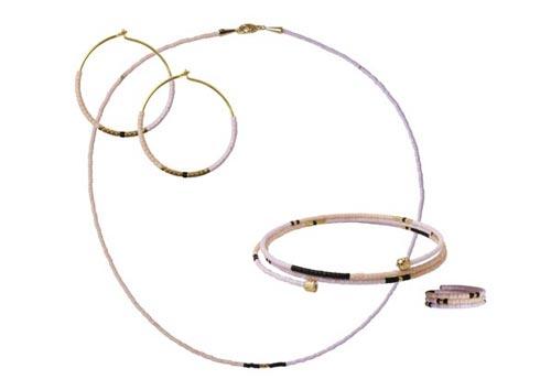 Smykker med delica perler og memorywire
