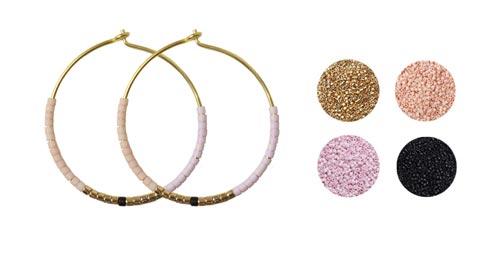 Kreoler med Delica perler