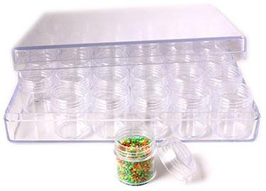 Opbevaringsæsker til små perler, delica perler og seed beads