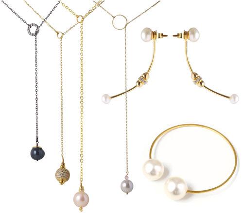 Smykker med perler og kæder