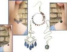 DIY | Wire links earrings
