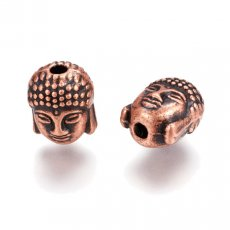 Copper & rose gold beads