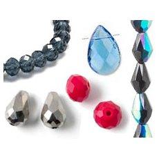 Crystal, Glass & Zirkonia beads