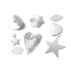 Silver & silver-plated jewellery parts