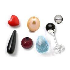 Half-drilled pearls & teardrops