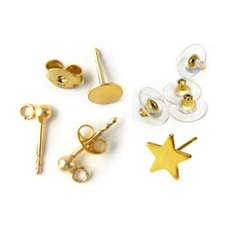 Earstuds - gold plated