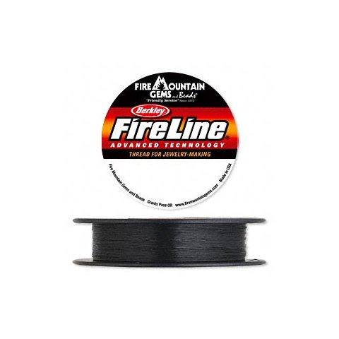 FireLine 6LB, schwarz, super dünn und stark, Dicke 0,15 mm, 2 m